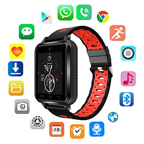 Activity Tracker Smart Watch Heart Rate Monitor Blood Pressure Monitor Bluetooth Function IP 67 Water Resistant GPS for Kids Women - Lasered Skin Silicon