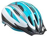 Schwinn Intercept Adult Helmet Silver/Blue Review