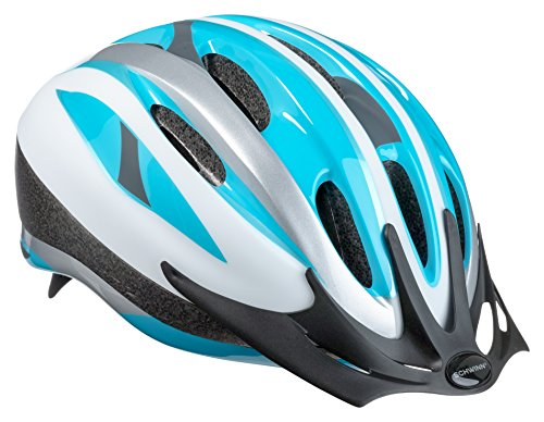 Schwinn Intercept Adult Helmet Silver/Blue