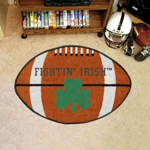 - Notre Dame Football Rug 22