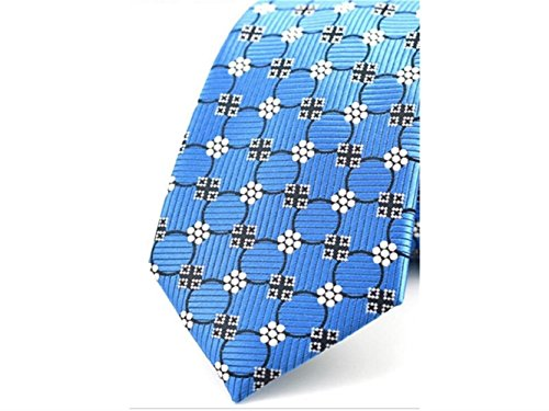 Party Wedding Necktie Occasion Comfortable Blue Fashionable Casual Jacquard and Kxrzu for Men's Formal xw0ZBqT1Y