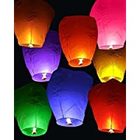 Party Propz Flying Lanterns for Diwali and Christmas Festivals