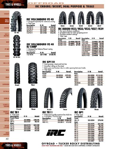 IRC Tire GP110 Tire - Rear - 120/80-18 , Position: Rear, Tire Type: Dual Sport, Tire Size: 120/80-18, Rim Size: 18, Load Rating: 62, Tire Ply: 4, Speed Rating: S, Tire Application: All-Terrain