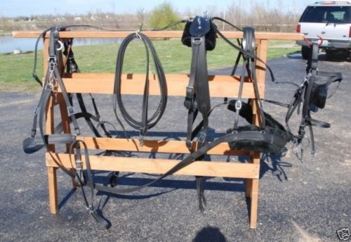 Horse Buggy Harness - 9