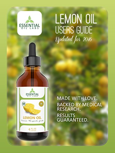 Lemon Essential Oil - Highest Quality Therapeutic Grade Backed by Research - Largest 4 Oz Bottle with Premium Dropper - 100% Pure and Natural by Essential Oil Labs by Essential Oil Labs (Image #6)