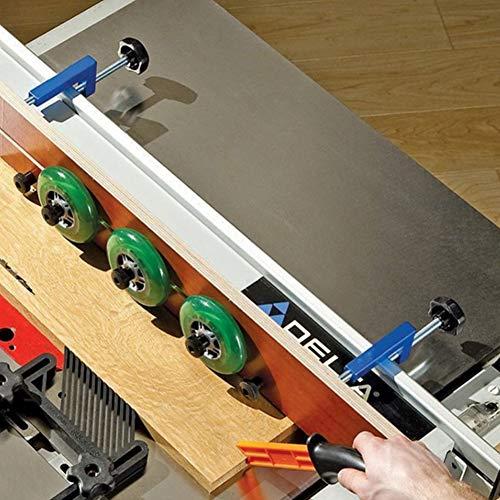 Feste Klemmen für die Holzbearbeitung, verstellbare G-Klemme, Handwerkzeug für Industriebedarf, Klemmbereich 70~150 mm/2,76~5,91 Zoll(rot)