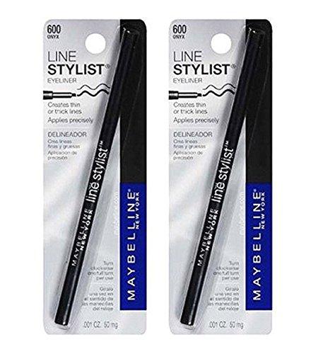 Maybelline New York Line Stylist Eyeliner, Onyx 600, 2 Ea by Voronajj