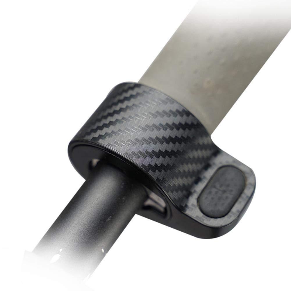 Rubyu Protector de Pantalla Impermeable Pel/ícula Protectora de Fibra de Carbono para Xiaomi M365 Roller Switch