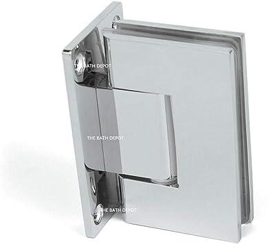 Sunny Shower Sh Ch 1 Pair 2 Hinges Frameless Pivot Shower Door