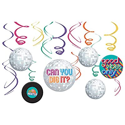 70's Party Swirl Decorating Kit: Home & Kitchen