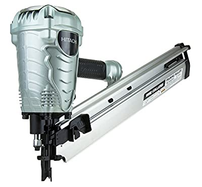 Hitachi NR90AFS1 2-Inch to 3-1/2-Inch Wire Weld Collated Framing Nailer from Hitachi