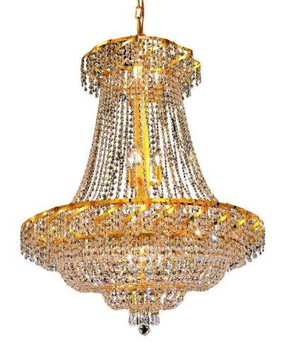 Belenus 18 Light Chandelier Finish: Gold, Crystal Trim: Strass Swarovski ()