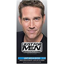 Just For Men Shampoo-In Hair Color - Light-Medium Brown H-30