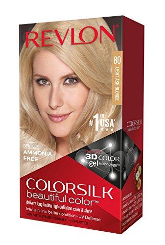 (Revlon Colorsilk Haircolor, Light Ash Blonde, 10 Ounces (Pack of 3))