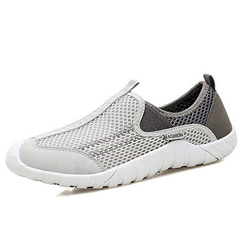 Zapatos Verano Gray Zapatos Zapatos Zapatos Malla Femeninos Deportivos A1 de Malla nuevos de Hasag de wFXSzFq