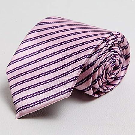 LBBJJ Corbata de Moda clásica Hombres Tie_Silk Hombres Corbata ...