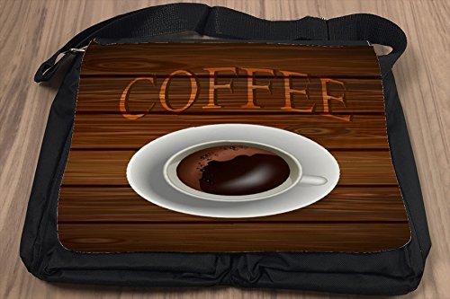 Umhänge Schulter Tasche Restaurant Küche Kaffeetasse bedruckt