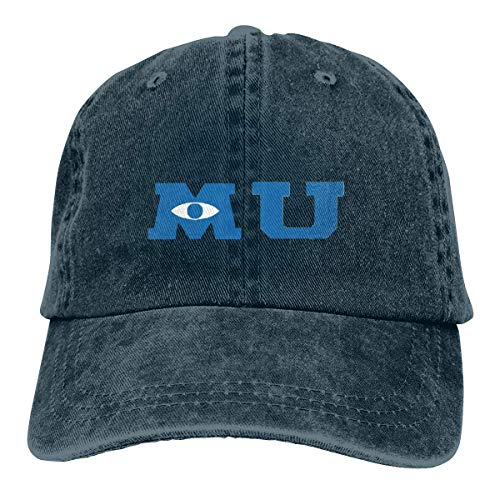 (KENMENE Monsters University Merchandise Casquette Baseball Cap Camo Cap Hats for Hunting Fishing Outdoor)