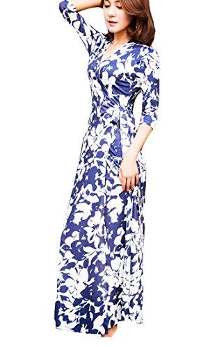 h and m blue lace dress - 6
