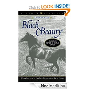 Black Beauty (Aladdin Classics) Anna Sewell and Carol Fenner