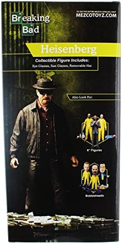"Breaking Bad Walter White Heisenberg 12"" Figure Mezco SDCC 2015 exclusive Rare!"