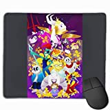 Nyanhif Fashion Cartoon Version of Undertale The Mouse Pad for Men White