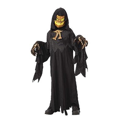 Rubie's Costume Possessed Pumkinhead Boys Child Creepy Costume: Toys & Games