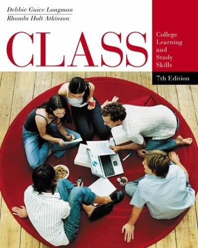 CLASS: College Learning and Study Skills (Wadsworth College Success)