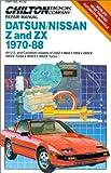 Datsun/Nissan Z Zx 1970-88 (Chilton's Repair Manual)