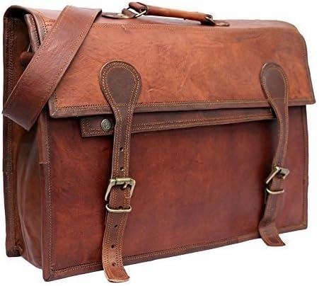 Sac homme en cuir neuve vintage ordinateur portable Messenger Handmade Mallette Sac Cartable