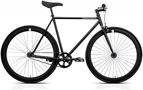 Bicicleta FB FIX2 total black. Monomarcha fixie / single speed ...
