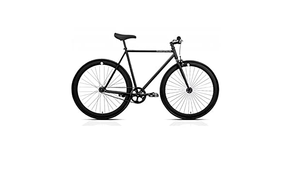 Bicicleta FB FIX2 total black. Monomarcha fixie / single speed. Talla 53: Amazon.es: Deportes y aire libre