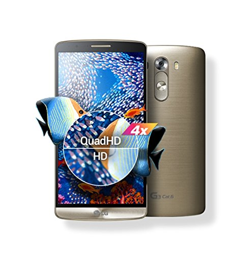Lg G3 Cat.6 /F460/ 32gb / Ddr 3gb / Factory Unlocked / Simfree / Snapdragon 805 (Shine Gold)