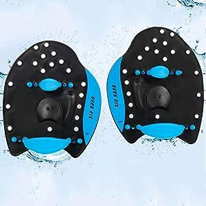 Aidoson Swim Paddles – Swimming Hand Paddles for Men and Women