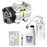 2003 mustang ac compressor - New AC Compressor & Clutch With Complete A/C Repair Kit For Ford Mustang V6 - BuyAutoParts 60-80218RK New