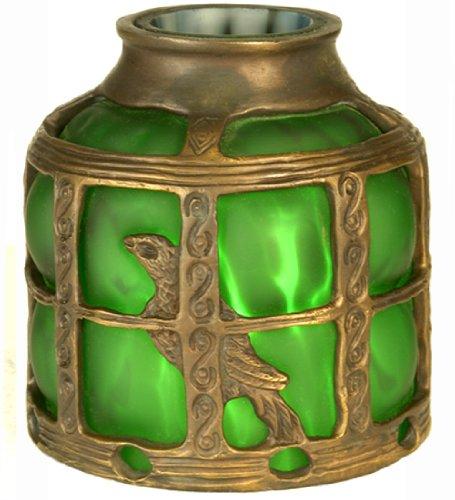 Meyda Victorian Art - Meyda Tiffany 22140 Victorian Art Glass Gothic Bird Cage Shade