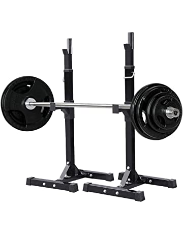 Yaheetech Pair of Squat Rack/Barbell Rack/Barbell Stand/Bench Press Rack Standard