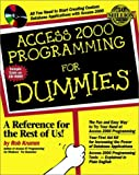 Access 2000 Programming for Dummies®, Robert Krumm, 0764505653