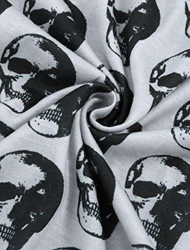 T Agnes Contraste Raglan Femmes Imprime Grande Sourcingmap Orinda Shirt Crane gray Couleur Taille RTqUdpzYxp