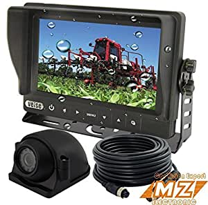 Amazon Com Veise 7 Quot Wired Digital Rear View Back Up