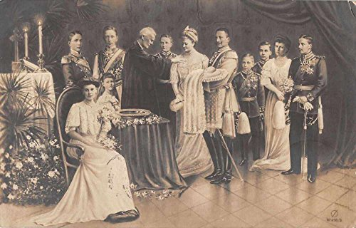 German Royalty Wilhelm Crown Prince Ceremony Real Photo Antique Postcard J67813