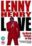 Lenny Henry - So Much Things To Say, Live [UK Import]