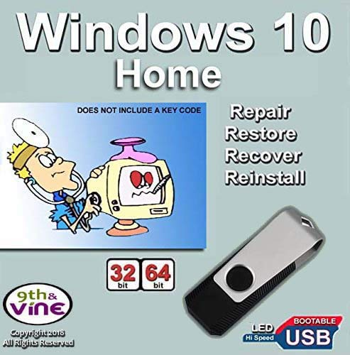 how to use usb recovery drive windows 10
