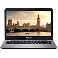 "ASUS VivoBook E403NA-US04 Thin and Lightweight 14"" FHD Laptop, Intel Celeron N3350 Processor, 4GB RAM, 64GB eMMC Storage, 802.11ac Wi-Fi, USB-C, Windows 10 (Certified Refurbished)"