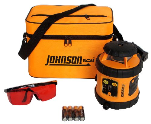 Johnson Level and Tool 40-6515 Self-Leveling Rotary Laser Level