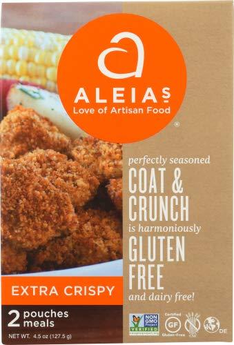 Aleias Breadcrumbs Extra Crispy 4.5 OZ (Pack of 6)