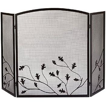 Amazon.com: Pleasant Hearth Classic Fireplace Screen: Home & Kitchen