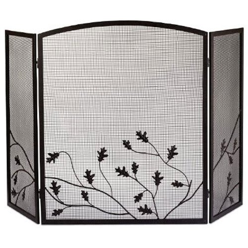 leaf fireplace screen - 1
