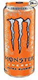 Monster Energy, Ultra Sunrise, 16 Ounce - 24 Count - Pack of 6