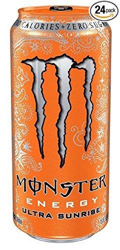 Monster Energy, Ultra Sunrise, 16 Ounce - 24 Count - Pack of 6 by Monster Energy